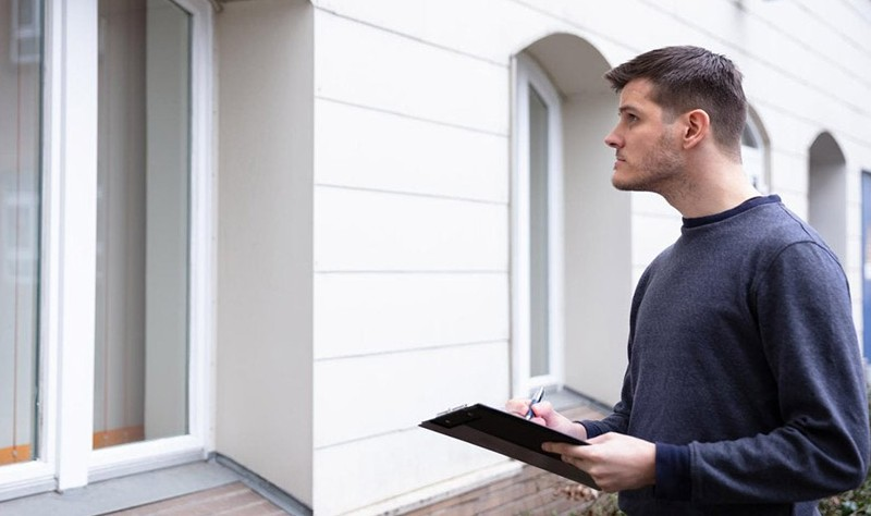 a landlord inspection a property during an end of lease